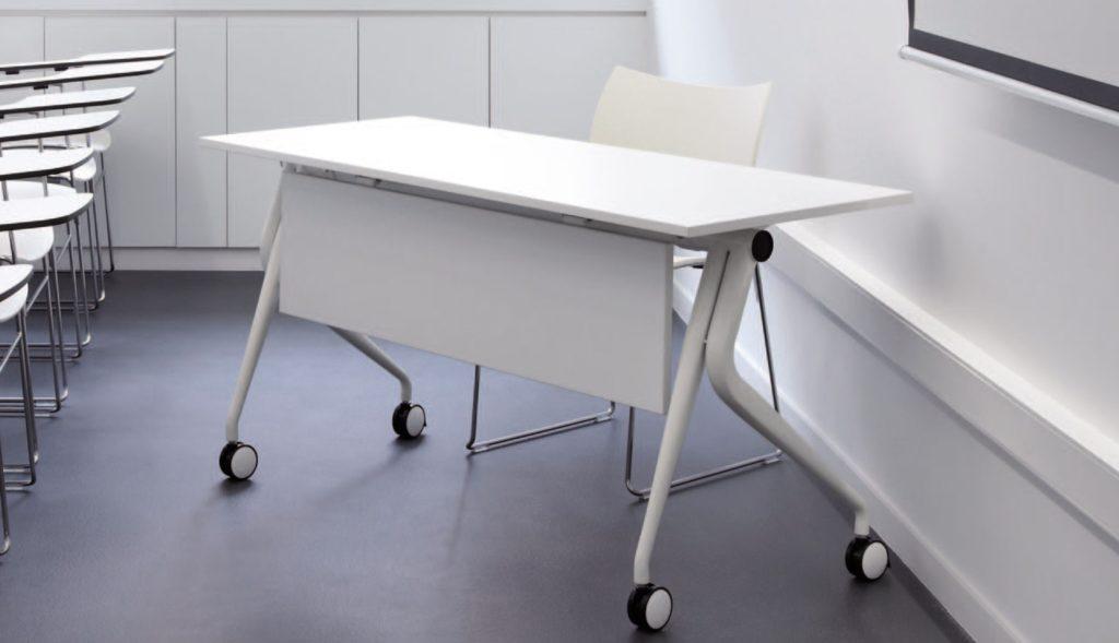 Mesas plegables para colectividad muebles de oficina for Caja murcia valencia oficinas
